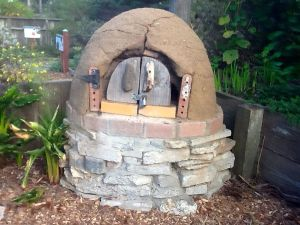 Garden oven at Garden for the Environment, SF.